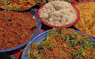 Quelques uns des plats laotiens !
