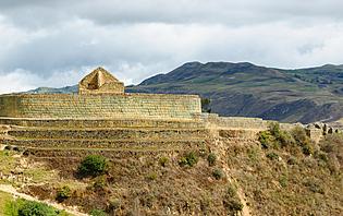 Ingapirca, site de véstige Inca en Equateur