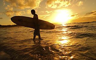 De Décembre à Avril, les conditions sont parfaites pour surfer en Equateur !