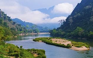 Une rivière au Laos