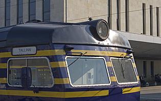Le train, pour vous déplacer à travers l'Estonie !
