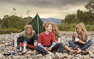 Le camping réjouira toute la famille !