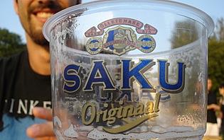 Saku, la bière nationale !