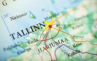 Carte de Tallinn