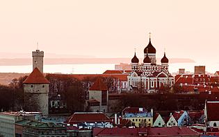 La vieille ville de Tallinn, classée au patrimoine mondiale de l'UNESCO !