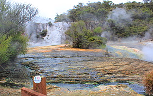 Parc geothermal de Orakei Korako