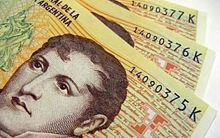Le pesos argentin, sujet à de très forte inflation !