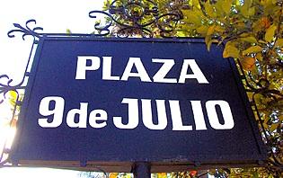 Le 9 Juillet, une date qui a changé l'Argentine
