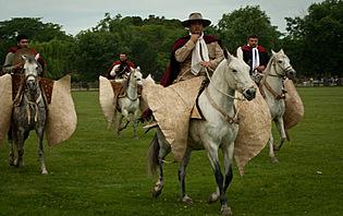 Les gauchos sont très présents dans la culture argentine !