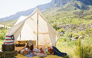 Camping en Argentine ? Rudimentaire mais pas cher !