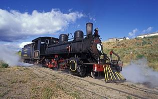 Vous pouvez aussi prendre le train local pour aller explorer la Patagonie !
