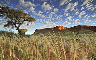 Plateau, Namibie