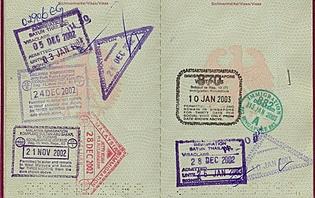 Passeport et Visa pour l'Egypte