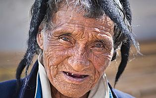 Monpa tribal man