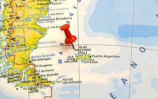 Les îles Malouines, un sujet à éviter de préférence !