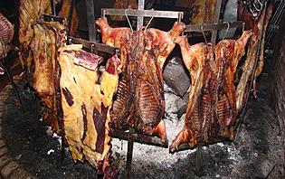 Le cochon de lait façon Argentine !
