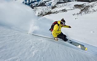 les Andes vous offriront de belles pistes de ski !