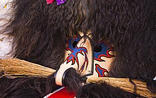 Masques traditionnels, carnaval en Slovénie