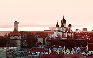 Vieille ville de Talinn en Estonie