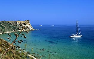Voilier, Grèce