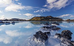 Blue lagoon, Islande