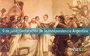 9 Juillet 1816, jours de l'indépendance Argentine !