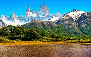 Du désert à la verdure en Argentine