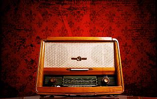 Ancienne radio argentine