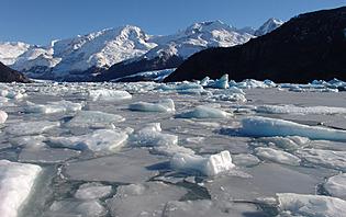 La mer de glace entourant le célèbre Calafate !