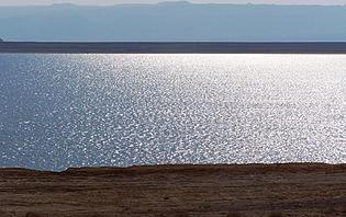 Se baigner dans la mer morte : une expérience... intéressante !