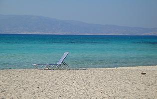 Farniente seul sur la plage... avant de partir en excursion ou en cours de cuisine !