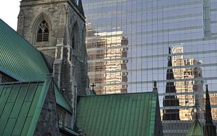 Montréal, entre églises et gratte-ciel