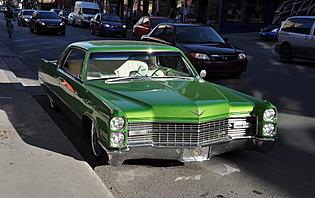 C'est le moment de conduire une belle Cadillac américaine !