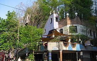 Vienne, c'est aussi l'architecture moderne et colorée de la Hundertwasser Haus !