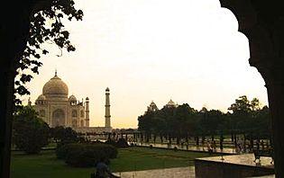 Les charmes du Taj Mahal