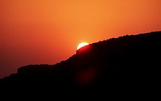 Un coucher de soleil, c'est toujours magique