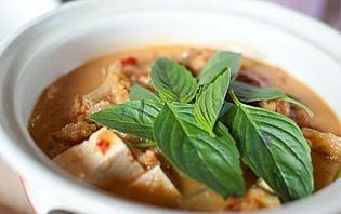 Curry au tofu