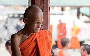 Rencontre avec un moine