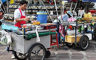 Une cuisine de rue