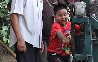 Un jeune thaïlandais
