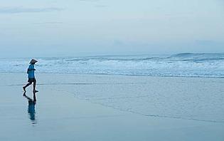Marche sur la plage : zéro impact !