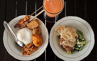 Les spécialités culinaires des warung