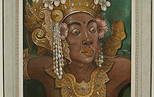 Tableau au Musée Néka, Ubud