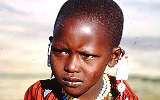 Jeune massaï