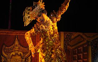 Jeune danseur birman