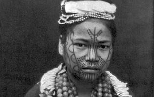 Femme de l'ethnie Chin