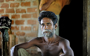 Les Sri Lankais prennent soin de leurs cheveux