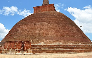 Le plus ancien stupa du Sri Lanka