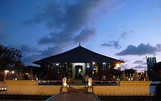 Crépuscule sur Colombo