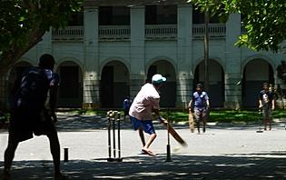Partie de cricket